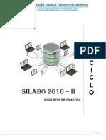Silabo VIII Ciclo 2017 II