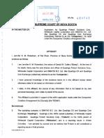 Affidavit of Jennifer Robertson