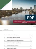 POLIARQUIA - Encuesta Nacional (Enero)