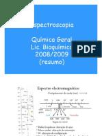 Cap Espectroscopia Resumo Aulas