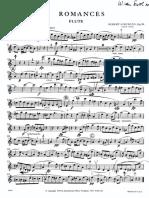 3 Romances Op94 - Flute Part