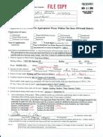 Application of Tom & Lori Wilson