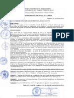 Ordenanza Municipal N.013 2012 a MPSM