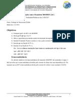 4.Rodrigo Toledo MOSFET SmallSignal