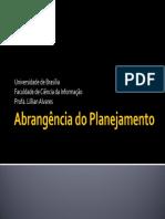 Universidade de Brasília Faculdade de Ciência da Informação Profa. Lillian Alvares