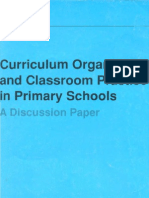 Curriculum Organisation and Classroom Practice in Primary Schools