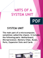 Parts of a System Unit