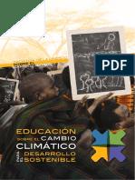 Educación sobre el cambio climático.
