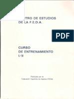 195604602 Centro de Estudios de La FEDA Curso de Entrenamiento I y II