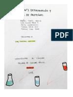 Informe- Determinación y Análisis de Proteínas