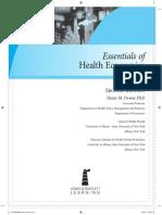 Health Economics Textbook