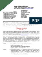 02.12.19 PC Final Agenda Packet