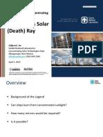 Archimedes Solar (Death)Ray