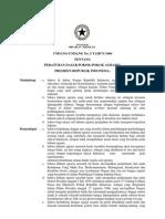 Undang-Undang no. 5 Tahun 1960 Tentang Peraturan Dasar Pokok-Pokok Agraria