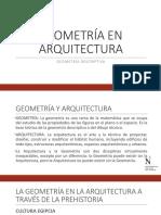 Geometría en Arquitectura