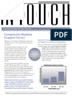 Compression Modulus (Support Factor)