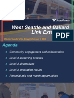 ST3 Ballard-West Seattle ELG February 2019 Presentation