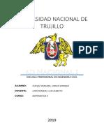 Caratula Universidad Nacional de Trujillo