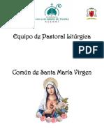 Mes de Mayo Virgen María