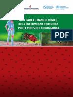 Guía Para El Manejo Clínico de Enfermedad Por El Virus de Chikungunya 2015