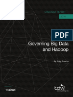 WP en BD TDWI Governing Hadoop