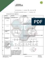 Formulas Derivadas2