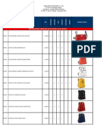 JanSport Regular Items Pricelist