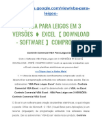 Vba Para Leigos Em 3 Versoes Excel Download - Software Comprovado