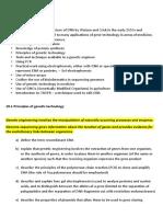 Gene Technology_lesson Plan
