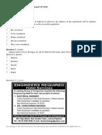 Latihan Soal Kompetensi Profesional UP UKM Bahasa Inggris Set 2