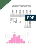 Probabilidad y estadistica (ejercicios)