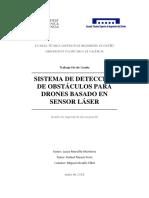 Sistema de Detección de Obstáculos Para Drones Basado en Sensor Láser