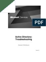ActiveDirectory ADTSv2.0 Workbook