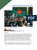 Gonojagoron Mancha Movement in Bangladesh.docx