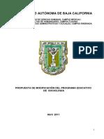 Plan de estudios Sociología UABC 2011
