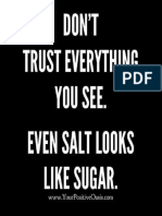 Dont trust everything you see