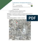Informe de Visita Técnica a Constructora Morocho