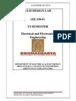 Vlsi Laboratory Manual 10ECL77