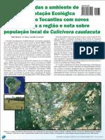 Aves associadas a ambiente de veredas na Estação Ecológica Serra Geral do Tocantins.pdf
