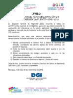 108-Aviso-planilla Excel Para Dec Retenciones - 281118