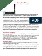 Cinco Pilares de La Reforma