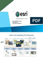 Esri - Esri and SAP Overview