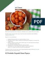 1 Pestisida Dari Tomat