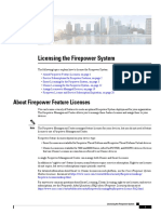 Licensing the Firepower System