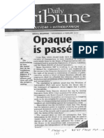 Daily Tribune, Feb. 6, 2019, Opaque is passe.pdf