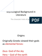 en291 lecture 3 character traits of gods