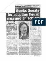 Peoples Journal Feb. 6, 2019, GMA thanks Senate for adoptimg House measure on seniors.pdf