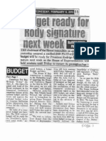 Peoples Tonight, Feb. 6, 2019, Budget ready for Rody signature next week.pdf
