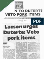 Philippine Daily Inquirer, Feb. 6, 2019, Lacson to Duterte Veto Pork Items.pdf