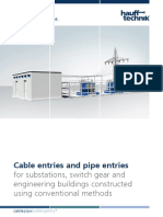 Cable Entries Pipe Entries Sub Stations